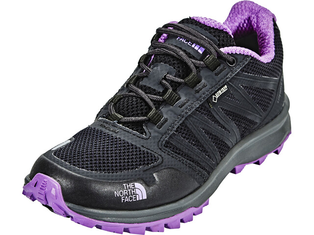 The North Face Litewave Fastpack GTX Shoes Women Phantom Grey/Bellflower Purple